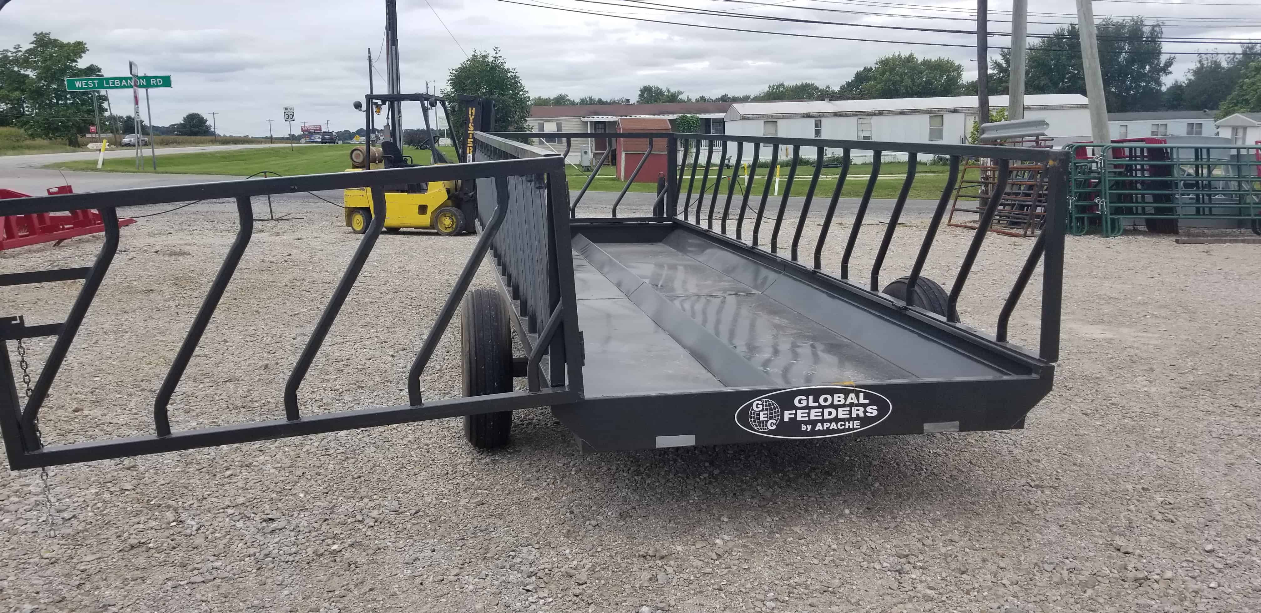 5th Wheel Trailers >> 20' Global Feeder Wagon | Amos Livestock Equipment, LLC