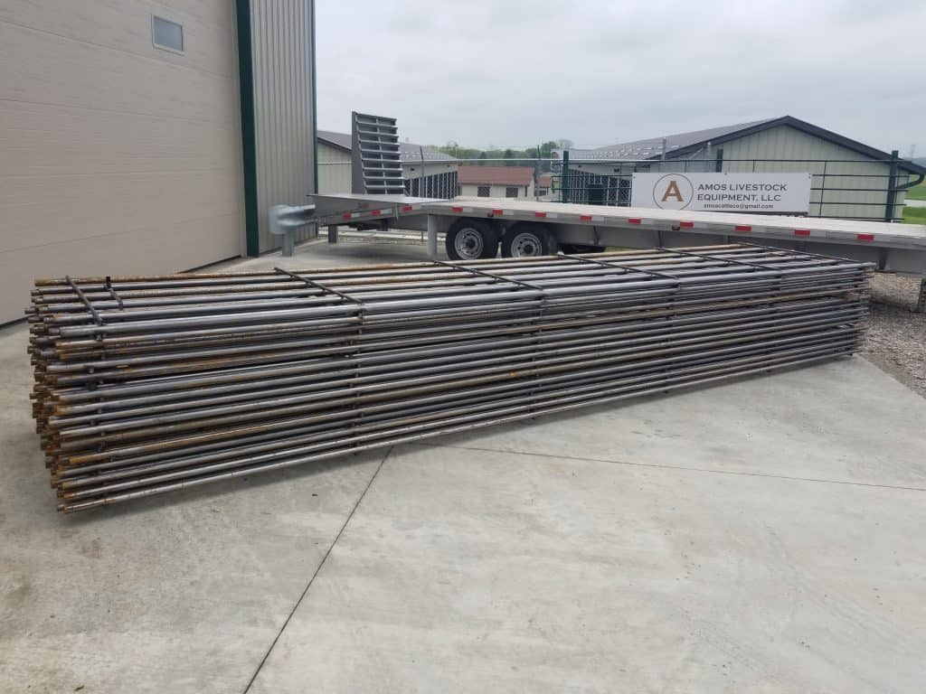 20 Continuous Fence Panels Amos Livestock Equipment Llc